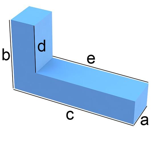 L-Form-Zuschnitt