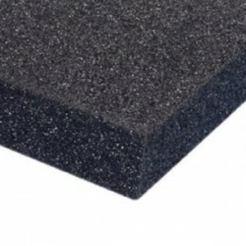 PUR 25/40 Schaumstoff Plattenware (schwarz)