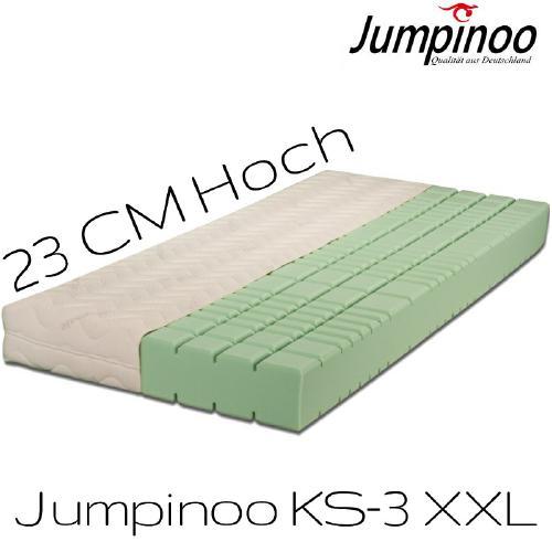 Jumpinoo Kaltschaummatratze Hoehe 23cm XXL RG55