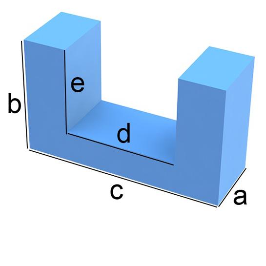 U-Form Zuschnitt