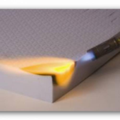 Schaumstoff B1 57/60 schwer entflammbar Plattenwar