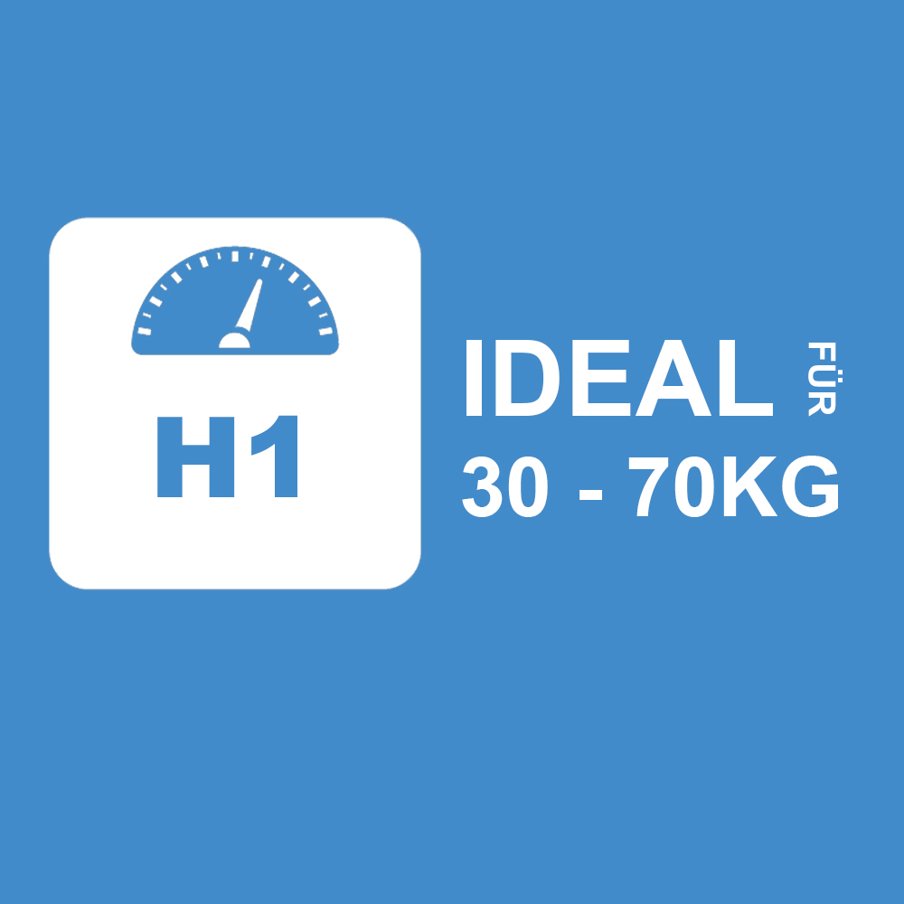 1CH1 - Ideal für 30 bis 70Kg